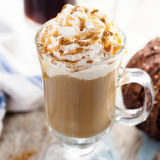 Homemade Pumpkin Caramel Coffee Creamer