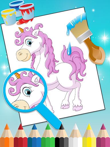Princess Coloring Book 2 android2mod screenshots 1
