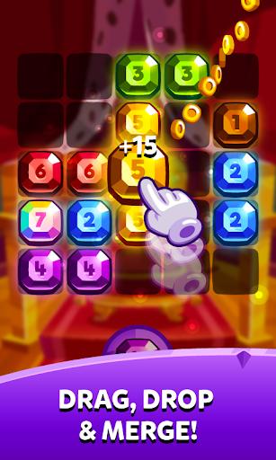 Bubbu Jewels - Merge Puzzle  screenshots 6