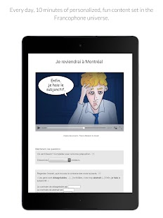 Learn French with Le Monde- screenshot thumbnail