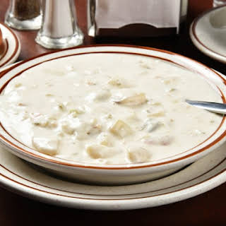 Copycat Cliff House Clam Chowder.