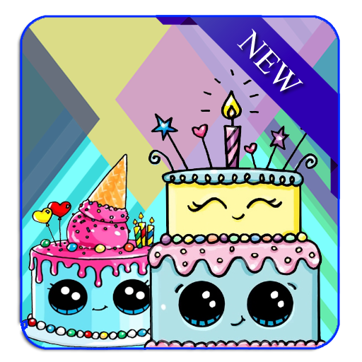 Brilliant How To Draw A Cute Birthday Cake Apk Download Apkpure Ai Funny Birthday Cards Online Eattedamsfinfo