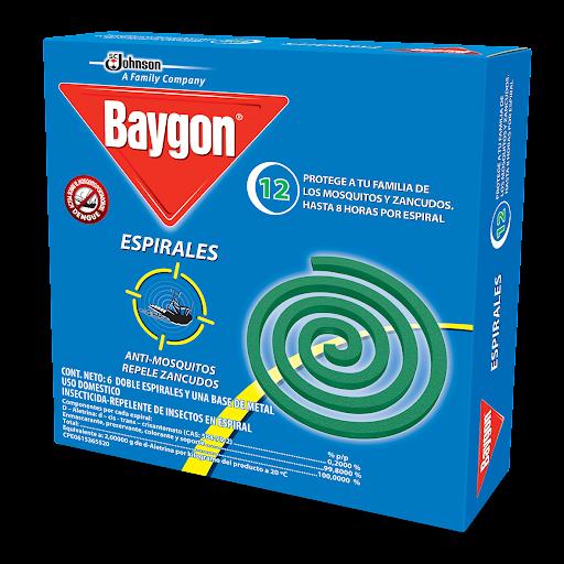 Repelente Baygon Espiral 12Und