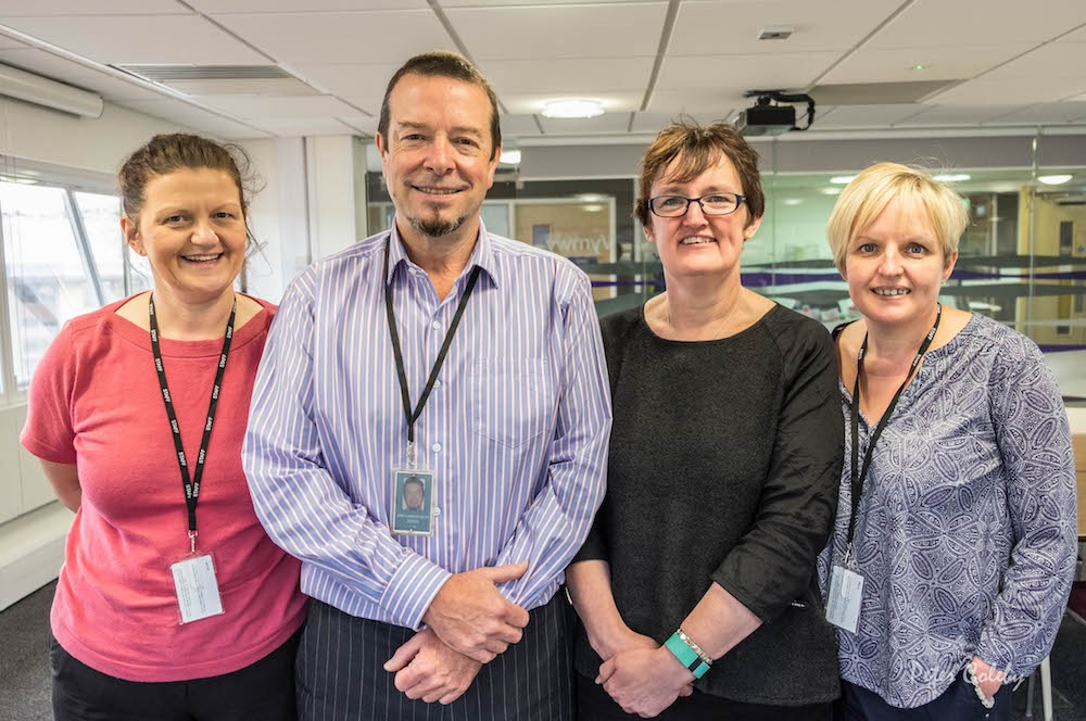Welsh Government staff raise cash for charity
