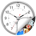 Clock - The Vault : Secret Photo Video Locker icon