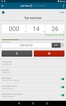 Multi Timer StopWatch 2.3.1 screenshot 257033
