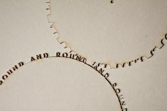 Photo: Typographic Gears (1 of 8)