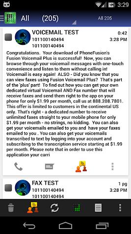 Visual Voicemail Plus Screenshot