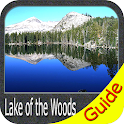 Lake of the Woods Offline GPS Fishing icon