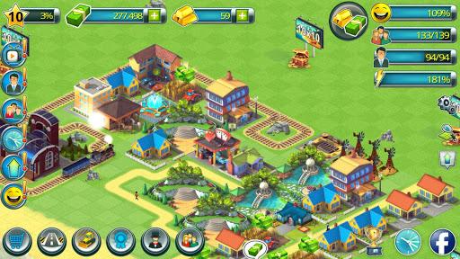 Town Building Games: Tropic Town Island City Sim  screenshots 4