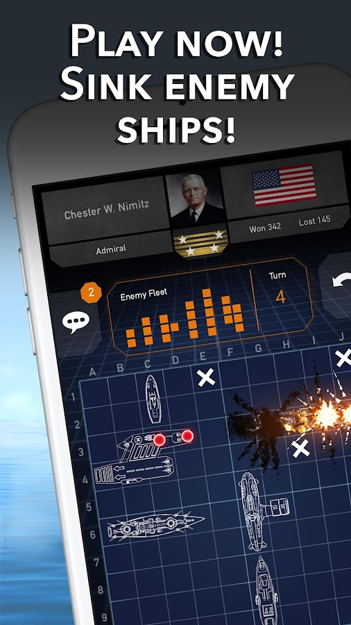 Battleships - Fleet Battle - Sea Battle- screenshot