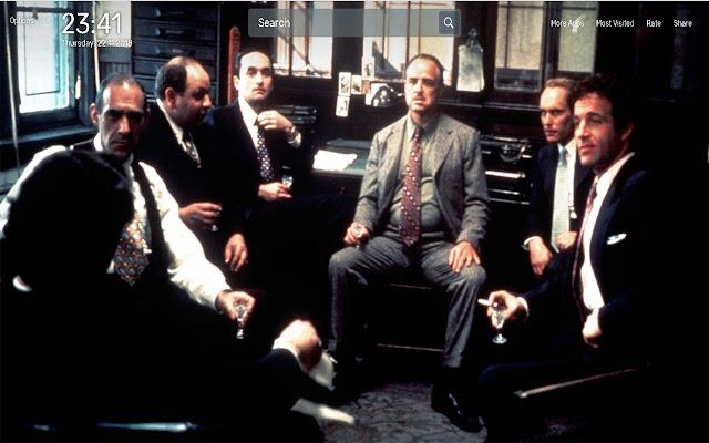 godfather movie wallpapers newtab theme