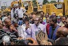 PROTEST IN ELEME OVERPOWERED BY ROAD CONSTRUCTION