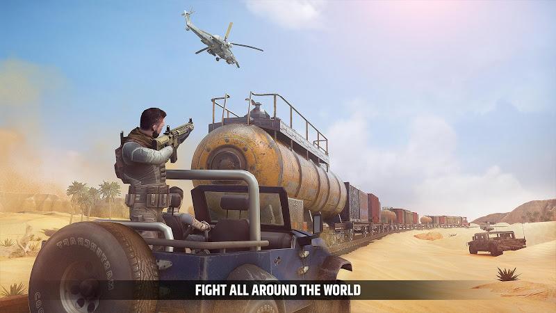 Cover Fire: shooting games Screenshot 1