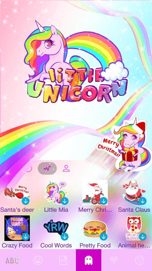 Little-Unicorn-Kika-Keyboard 12