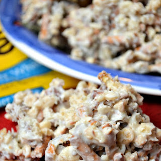 White Chocolate Pretzel Krispies Recipe