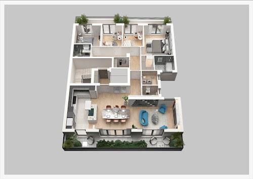 Elitni Penthouse (nova zgarada ) 150 m2 u jednom nivou 5.0 odmah useljiv - Vračar