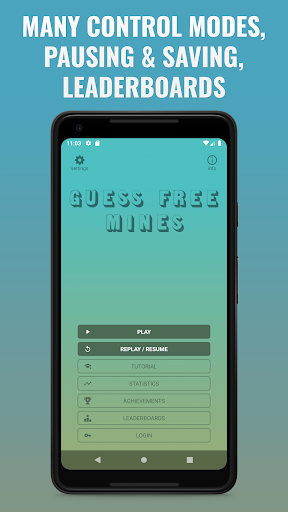 Guess-Free Mines: a minesweeper-type game ss2