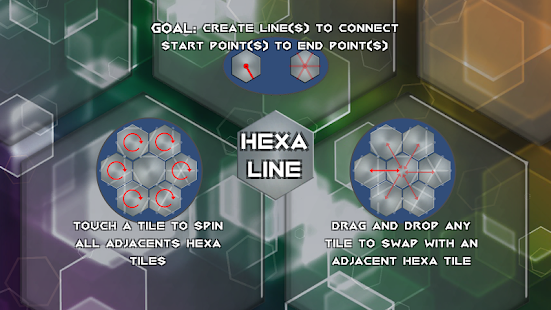 HexaLine - HARD ARCADE / PUZZLE GAME- screenshot thumbnail