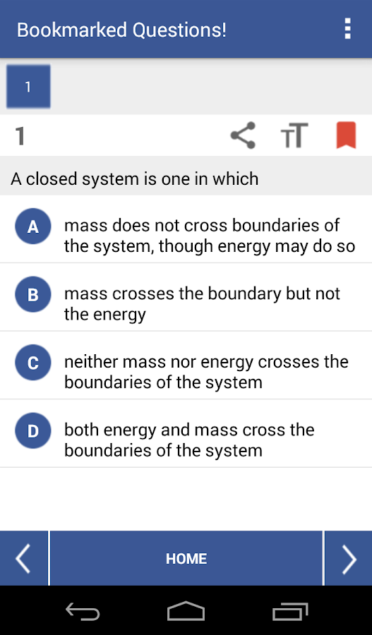 EduQuiz:Mechanical Engineering- screenshot