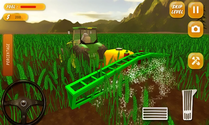 Farm Tractor Simulator 17 - screenshot