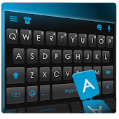 Classic Blue Business Keyboard Theme