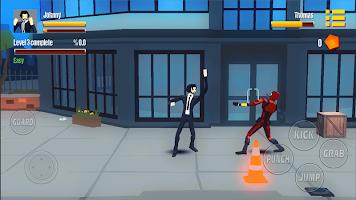 Johnny Street City Fighter Warrior: Gangster Fight