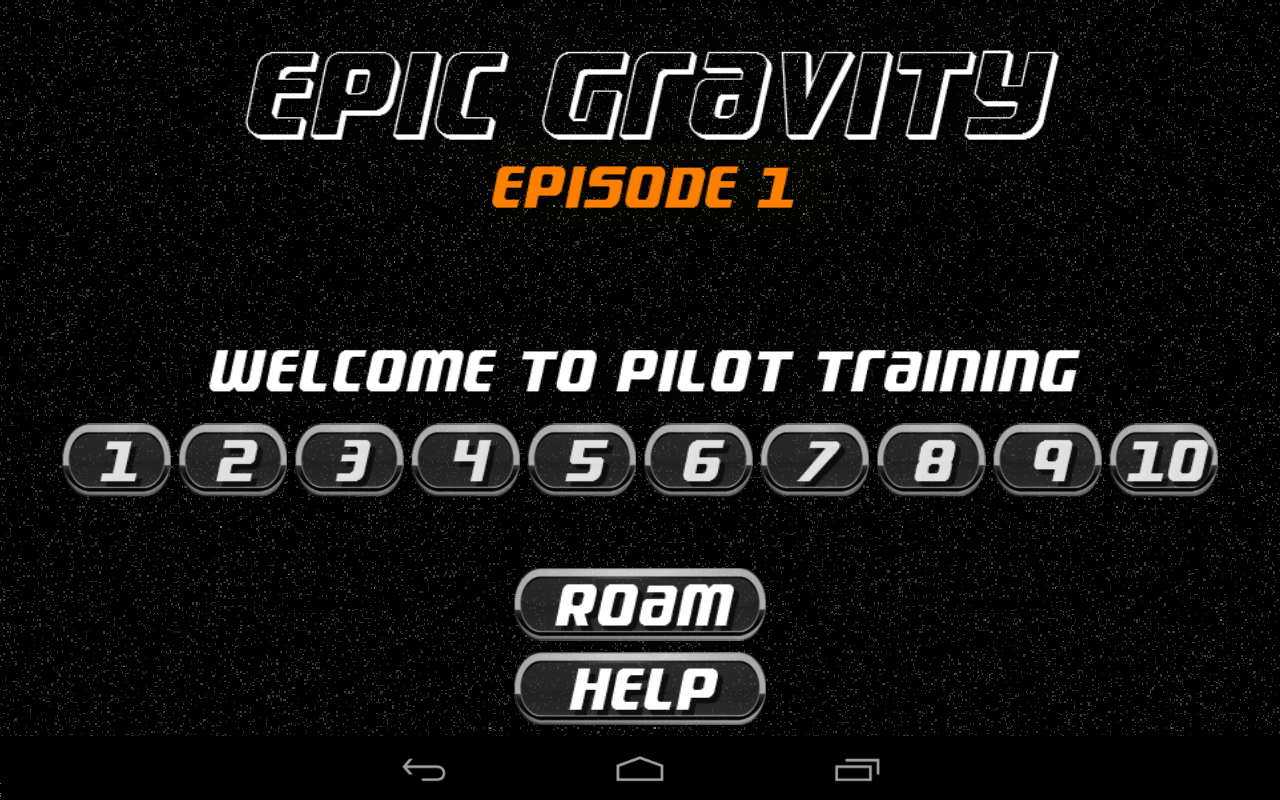 Epic Gravity: Episode 1- screenshot