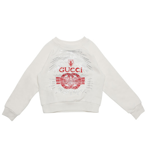 Primary image of Gucci Crystal Logo Sweatshirt