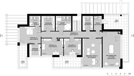 New House 21 - Rzut poddasza