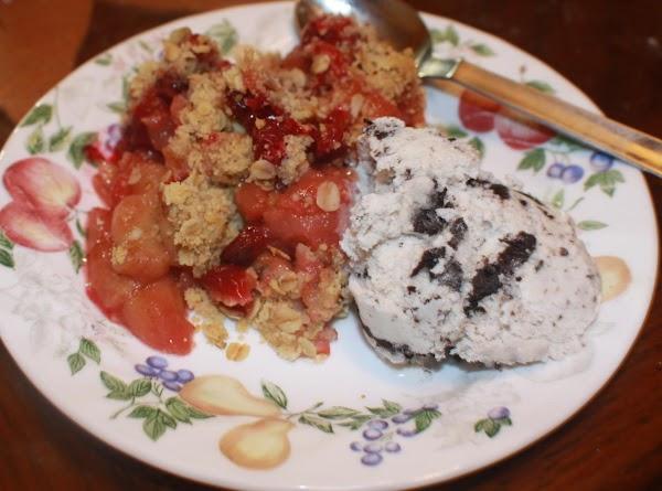 Apple-cranberry Crumble Recipe