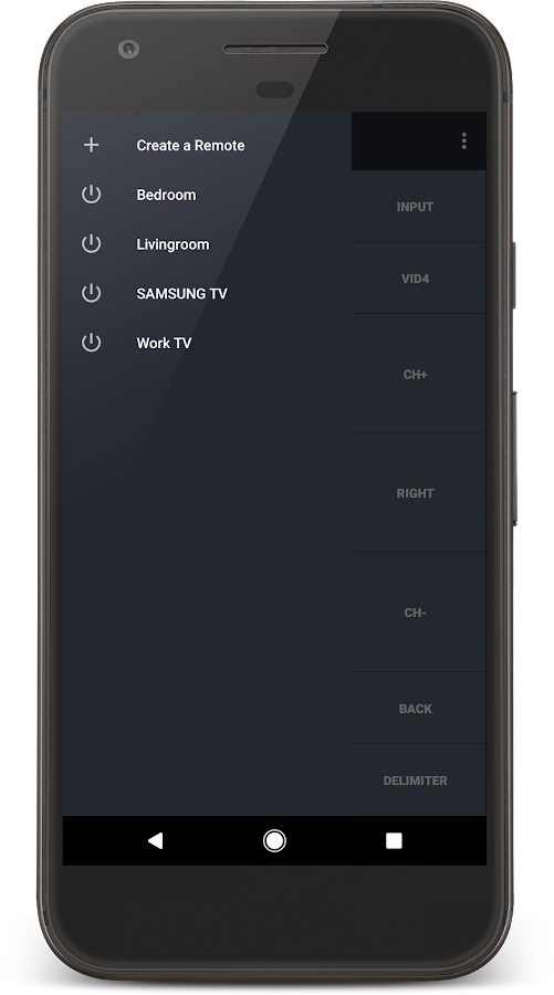 IR Universal TV Remote- screenshot