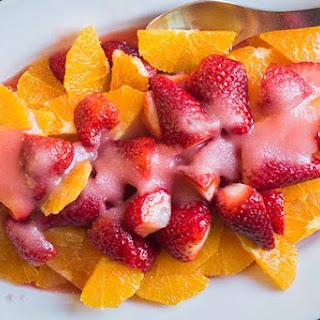 Orange And Strawberry Salad