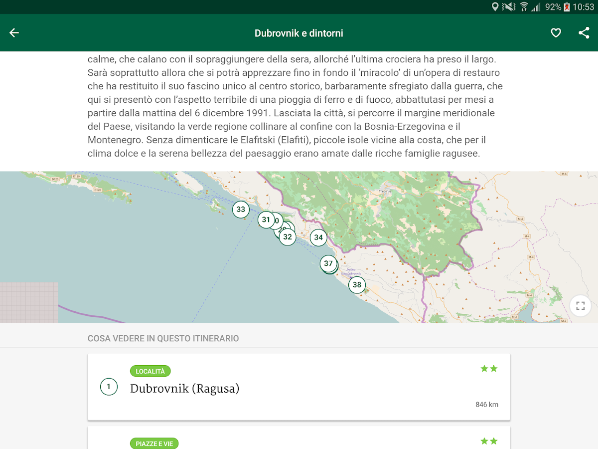Croazia Guida Verde Touring- screenshot