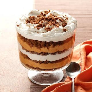 Pumpkin-Butterscotch Gingerbread Trifle.