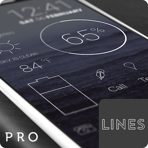 Lines - Icon Pack (Pro Version) APK Cracked Download