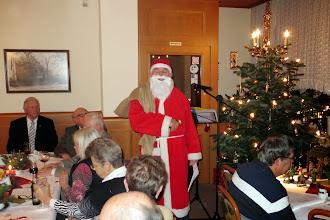 Photo: Der Nikolaus besuchte unsere Advents- und Nikolausfeier.