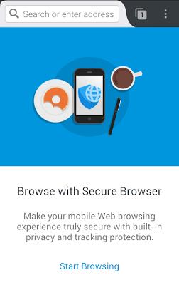 Secure Browser + Adblocker - screenshot