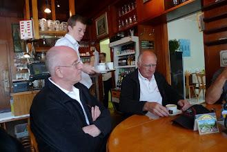 Photo: Ein Kaffee vor Beginn als Aufsteller