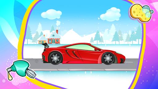 Car Games: Clean car wash game for fun & education screenshot 11