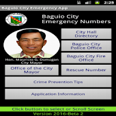 Baguio City Emergency Numbers