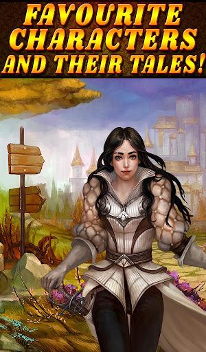 Shadow Kingdom Solitaire. Adventure of princess filehippodl screenshot 24