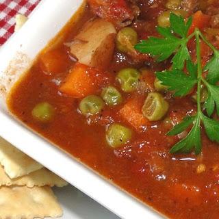 Martha's Vegetable Beef Soup.