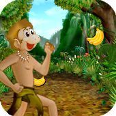 Monkey Banana Adventure Run