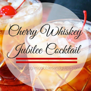Cherry Whiskey Jubilee Cocktail.