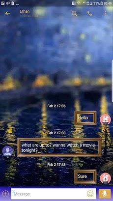 Painting Next SMS skinのおすすめ画像3