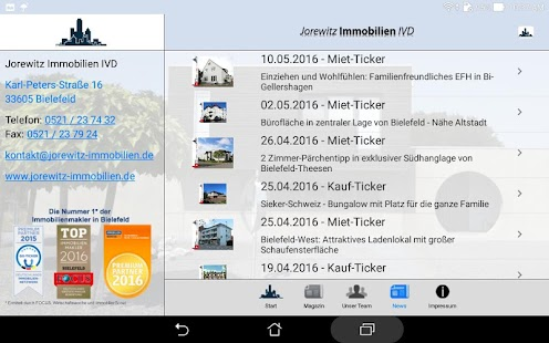 Jorewitz Immobilien IVD- screenshot thumbnail
