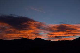 Photo: Sunrise in the Kern-kaweah Valley