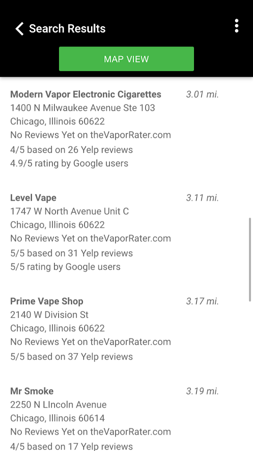 Find Vape Shops Near You- screenshot