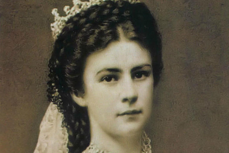 Empress Elizabeth of Austria, one of the most acclaimed beauties of her day.